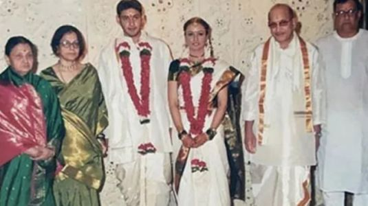 What Namrata Shirodkar wore to her wedding with Mahesh Babu. On Fashion Friday