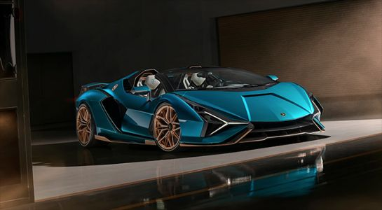 The Lamborghini Sián Goes Topless For The First Time Since Its Debut