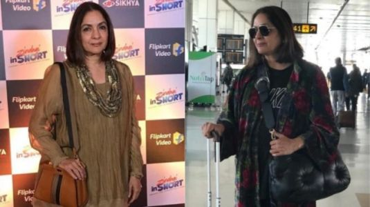 Neena Gupta rocks two back-to-back gorgeous looks. Proves she can carry all outfits with grace