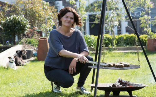Barbecues don't all have to be about the meat - give your veg some fire and smoke with Genevieve Taylor's vibrant recipes
