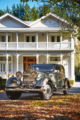 A chance encounter with a 1930 Rolls-Royce 20/25 led this man to acquire his dream car