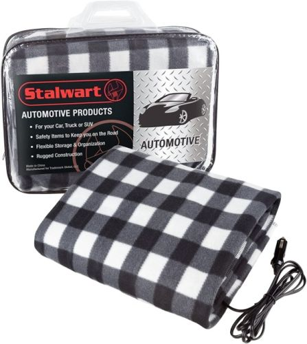 This Heated Blanket Works In Your Car So That You Can Stay Warm 24/7-& It's Only $25