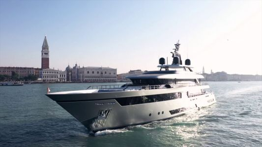 The first Riva 50m flagship superyacht makes its debut in Venice