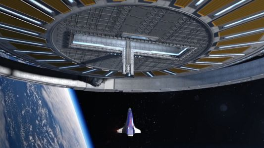 Go out of this world to Von Braun Rotating Space Station, the first luxury space hotel