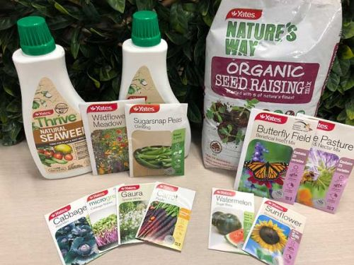 Be in to win a Yates National Gardening Week Starter Hamper, valued at $100