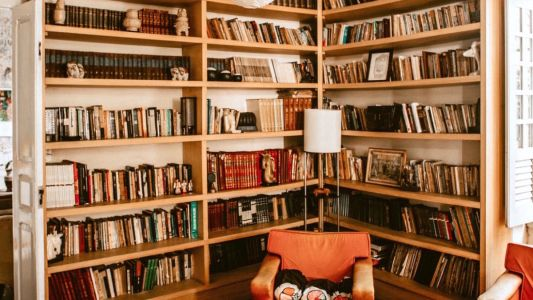 HomeInspo: how to craft your own home library