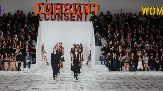 Maria Grazia Chiuri Centers Dior's Fall 2020 Show Around Another Feminist Work