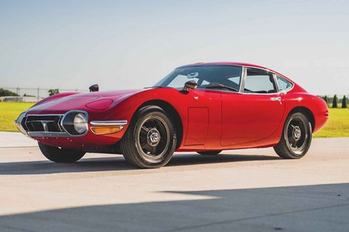 The 1967 Toyota 2000GT is The Best Sports Car You've Never Heard Of