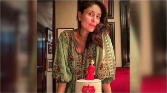 Pregnant Kareena Kapoor Khan is simply pretty in Rs 20k kaftan at her birthday bash