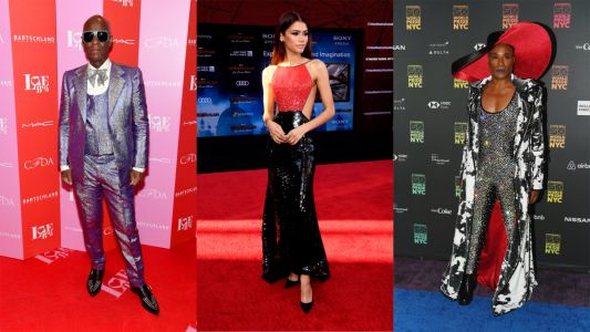 Sequins and Glitter Were Extremely Popular on the Red Carpet This Week
