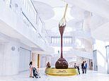 Lindt's incredible new museum features the world's tallest free-standing chocolate fountain