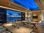 Six Senses Zil Pasyon in the Seychelles has villas with clear-bottomed swimming pools IN THE CEILING