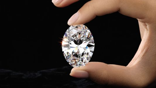 A spectacular 88.22-carat oval diamond has just landed in Hong Kong