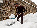 Spain digs itself out of snow in the aftermath of Storm Gloria that has killed eight people