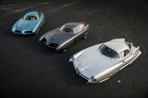 Sotheby's New York Unveils A Historic Three-In-One Listing of Alfa Romeo Concept Cars