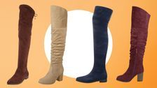 These Over-the-Knee Boots For Wide Calves Are Actually Cute