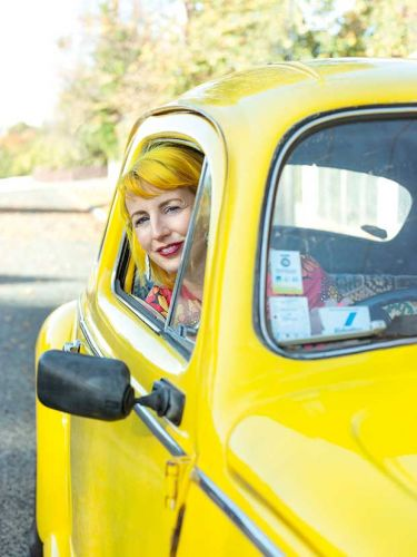A Timaru roller-derby dame's slice of life is colourful, retro, and everything in-between