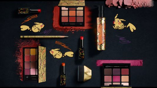 Shu Uemura releases festive collection in collaboration with Pokémon