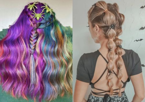 15 Halloween Hair Ideas To Take Your Costume To The Next Level