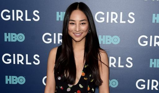Great Outfits in Fashion History: Greta Lee in Fruity Sandy Liang