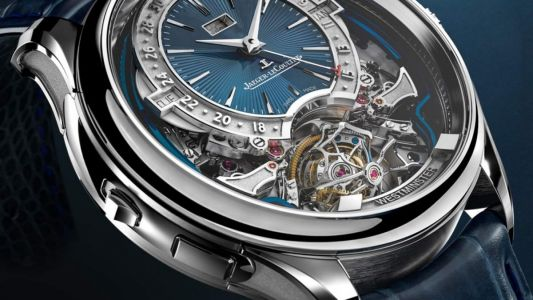 Jaeger-LeCoultre flexes its fifth gyrotourbillon is this masterful timepiece full of complications