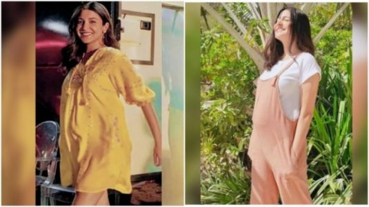 Anushka Sharma's pregnancy style is all about comfy casuals. 7 pics from her lookbook
