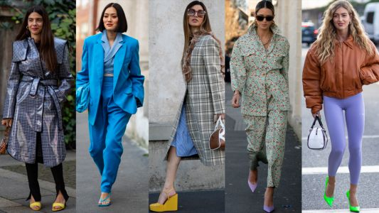 Everyone Wore Heels in Highlighter Hues on Day 2 of Milan Fashion Week