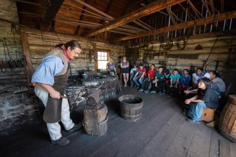 Stepping back in time to the 19th century with Canada's Coolest School Trip