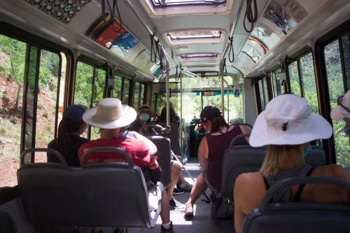 Zion National Park's shuttles are falling apart, but there is no funding to replace them. Why?