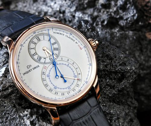 Running Secondes - the Jaquet Droz Grande Seconde Chronograph