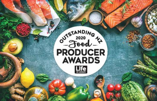 Clevedon Herbs & Produce win the Spirit of New Zealand award at the 2020 Outstanding NZ Food Producer Awards