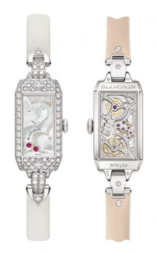 Blancpain Saint-Valentin 2020 - An ode to love in an elegant bejewelled art deco women's watch