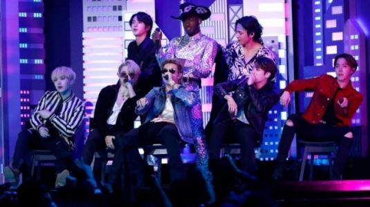 K-pop group BTS performs with Lil Nas X, becomes first Korean group to perform at Grammys