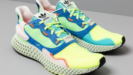 Sneaker drop of the month: Adidas' ZX 4000 4D Easy Mint hits stores this week