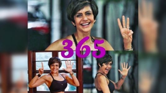 Mandira Bedi completes the 365-day exercise challenge: Today I am proud of me