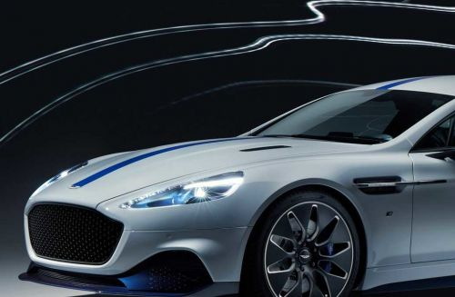 Electric Aston Martin Rapide E lives up to its name