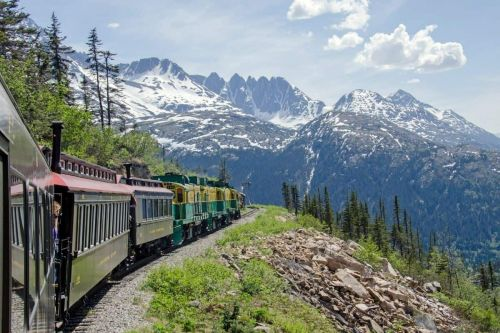 All Aboard the White Pass and Yukon Route