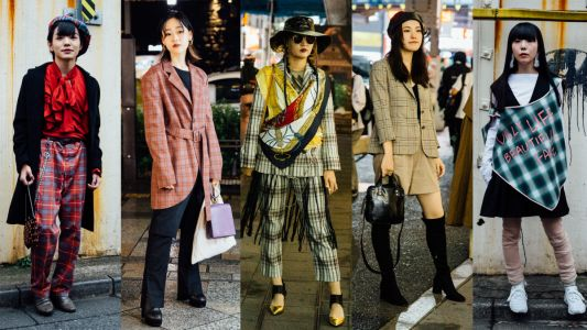 Everyone Wore Plaid at Tokyo Fashion Week