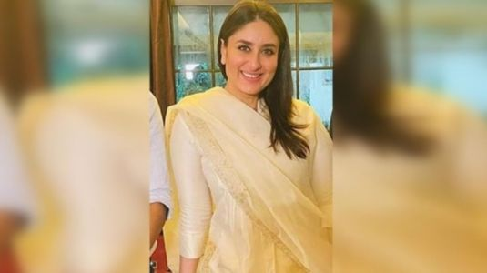 Kareena Kapoor in Rs 11k silk chanderi suit shows how to do maternity fashion with ethnic twist