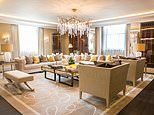 Four-bedroom penthouse suite in a luxury London hotel goes up for sale for £11.25million