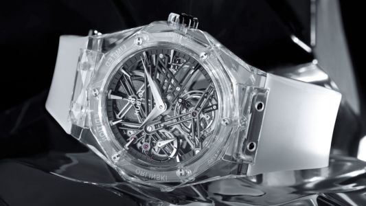 These watches with sapphire crystal cases leave nothing to the imagination