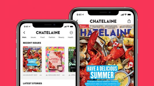 Chatelaine Is Now Available On Apple News+