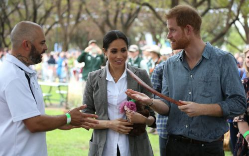 The Duchess of Sussex's banana bread is a success on her tour of Australia
