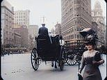 Incredible footage of 1911 New York City is colorized by artificial intelligence in high resolution