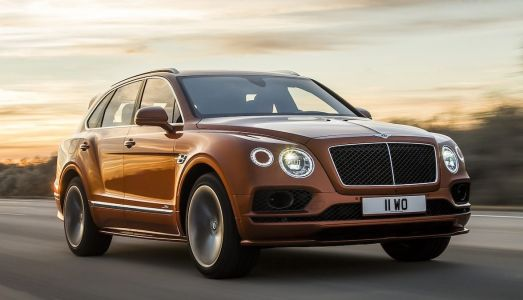 The 2020 Bentley Bentayga Speed is now the world's fastest luxury SUV