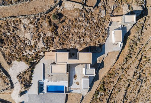 A2architects Construct A Summer Home Along The Hillsides of Sifnos, Greece