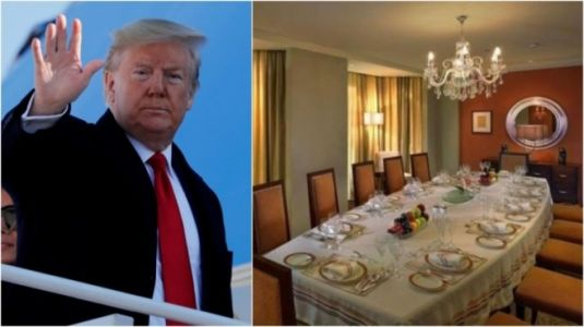 Donald Trump in India: Delhi hotel suite POTUS is in costs Rs 8 lakh a night