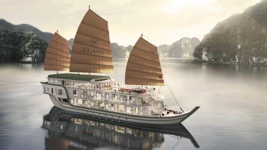 Explore the majestic beauty of Vietnam's Lan Ha Bay on this new wellness cruise