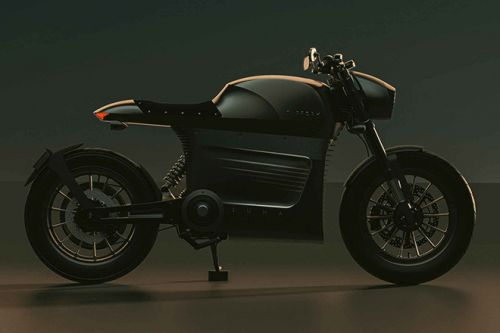 The Tarform Luna Motorcycle is a Sustainable, Retro-Themed Electric Cafe Racer
