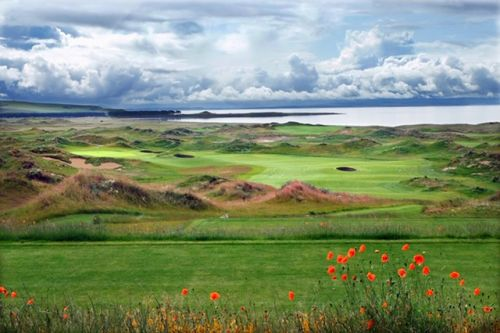 A Sneak Peak at the New Course, Dumbarnie Links, Near the Older St. Andrews